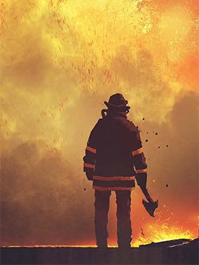 foto bombero